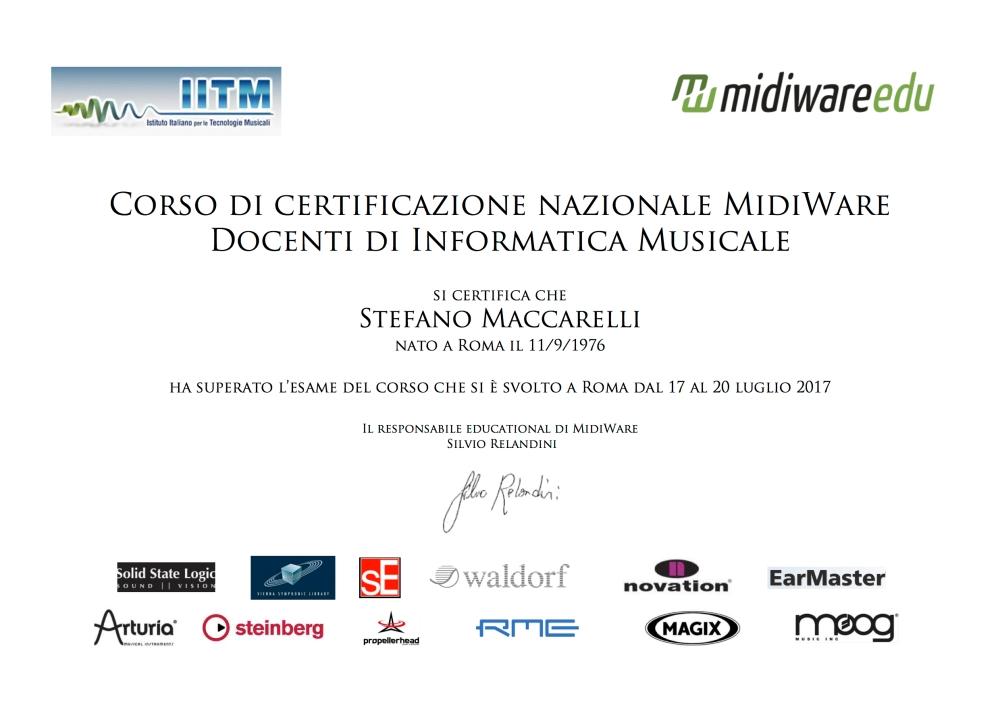 2017 Stefano Maccarelli